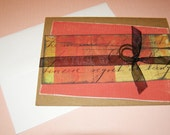 All Occasion Note Card - Sheerly Distressed