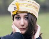 felt hat handmade in france Jane
