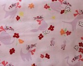 Paris Paws in Pink by Alexander Henry Fabric 1 yard
