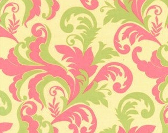 Grand Foliage Petal Meadowsweet Fabric by Sandi Henderson 1 yard