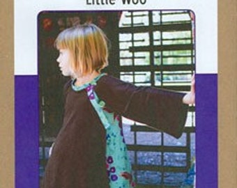 Little Woo Cardigan by Patterns by Figgy's Sewing Pattern sizes 1-7