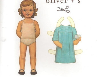 School Photo Dress Oliver and S Sewing Pattern sizes 6m - 4