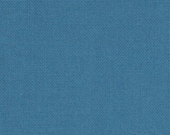 Moda Bella Solids Horizon Blue Fabric 1 yard 9900-111