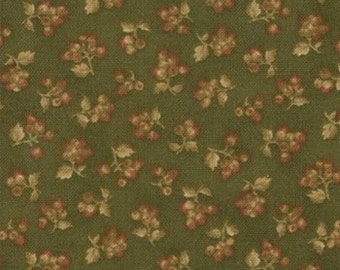 SALE Chestnut Small Floral Collections for a Cause Legacy fabric 1 yard