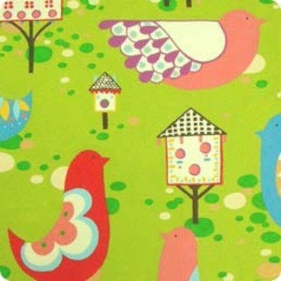 Willow Wren in Green by Alexander Henry 1 yard