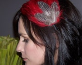 Grace Feather Hairpiece