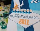 Fabulous 2011 Letterpress Calendar