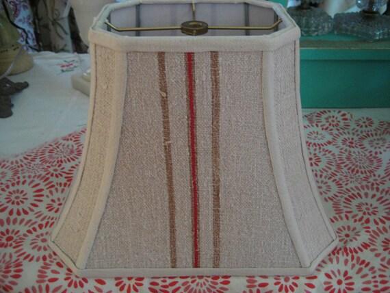 Vintage Grainsack Lampshade