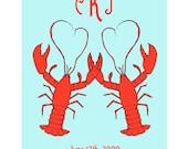 Lobster Love - Custom Print