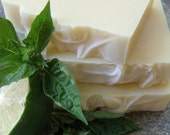 Lime Basil Soap - Handmade Soap - Herbal Soap - All Natural Soap - Organic Ingredients