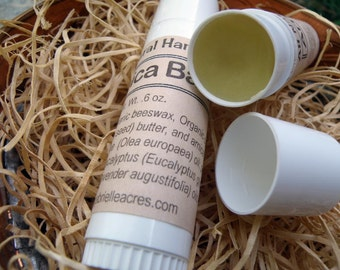 Arnica Balm, All Natural Arnica Herbal Balm, Organic Ingredients, Small Twist-Up Arnica Stick