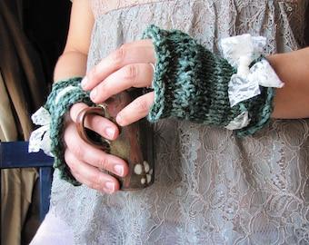 Matcha Tea Gloves