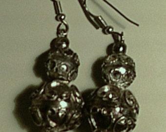 Vintage India Earrings Repair or Wear