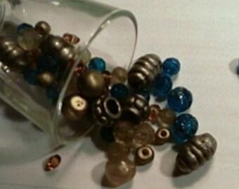 Destash Small Lot Plastic  Beads