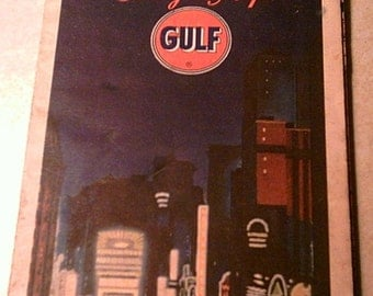 Vintage NYC  Paper Tourguide Map