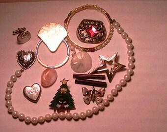 Destash Broken Jewelry Items Supplies Upcycle