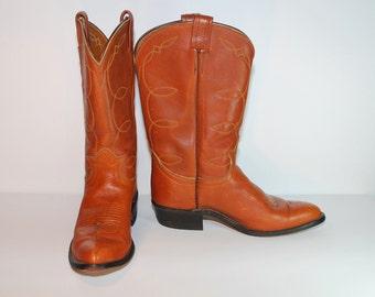 Vintage Tony Lama // 6.5 // Western Cowboy Leather Boots