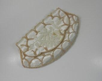 Vintage La Regale Beaded Clutch Purse Spring Wedding Bridal Purse