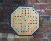 Aggravation game board hand made in USA IRK game sign d by craftsman