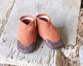 Soft Soled Shoes for Kids, size 9.5, Sweet Potatoes
