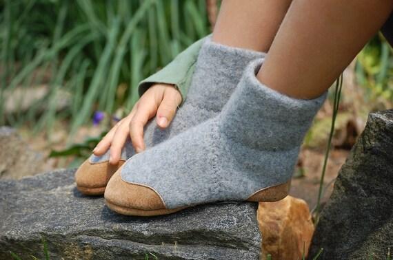 Children Slipper Socks With Non Slip Soles Kids Size 7 5
