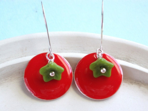 Merry and Bright - Holiday Earrings