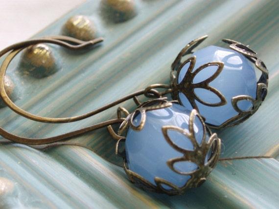 Beaded Earrings - Sea Breeze