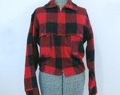 Plaid Woolrich Jacket