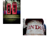 Two from London - 5x7 Color Photos