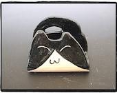 Super Cute  Tuxedo Cat Business Card Holder