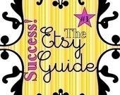 3,000 sold - The ORIGINAL Etsy Success Guide ----- (beware of copycat sellers)
