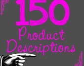 Custom Copywriting by Professional Writer Product Descriptions 150  SEO Google Boost- Relevancy and Keywords for Your Handmade Business xxx