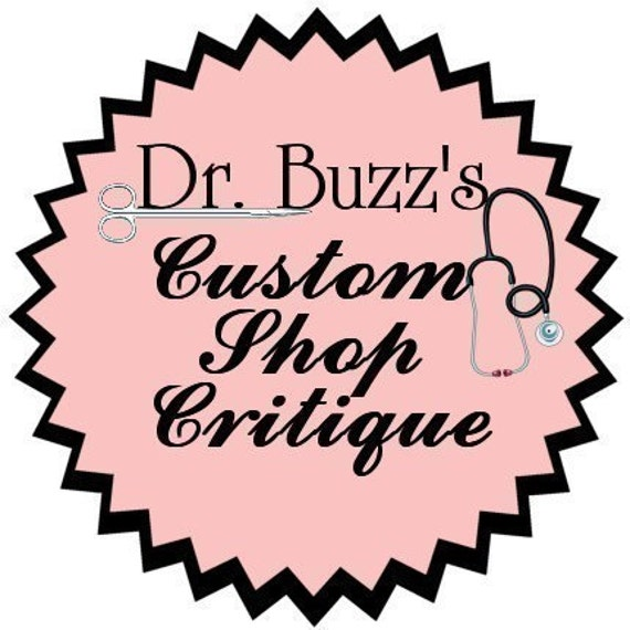 Dr. Buzz - Your Prescription For Etsy Success - Take TWO and Call Me in the Morning