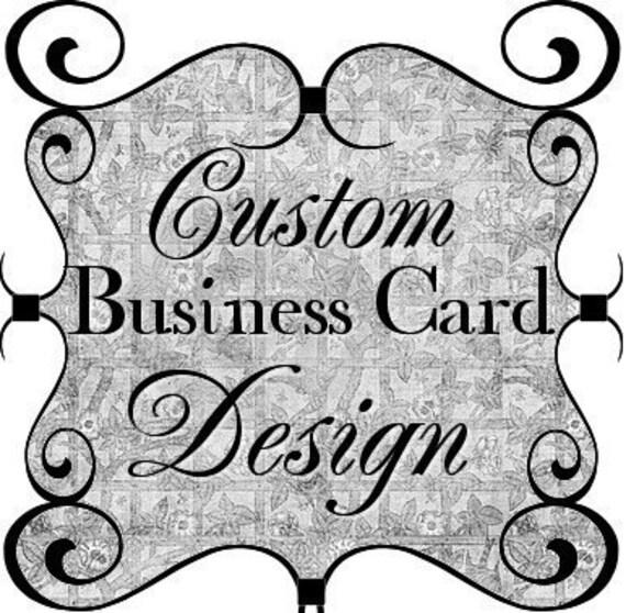 Business Card Design, Custom Business Card Design, Printable Business Cards