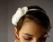 Organza Petite Flower Bridal Headband