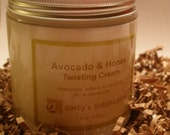 Avocado & Honey Twisting Cream -  medium hold curl styling cream for naturally curly, coily, kinky hair