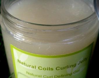 Natural Coils Curling Jelly 8 oz. Jar