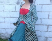 Teal Steampunk Costume