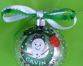 Available for Christmas Delivery New Baby Boston Celtics Personalized Sports Christmas Ball Born to Be a Celtics Fan