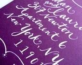 Romantic Flourishes - Calligraphy Envelope Addressing