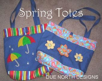 Spring Totes PDF Pattern