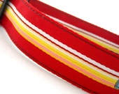 Leon Red Dog Collar 1.5 inches wide