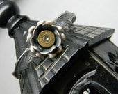 Elspeth Bullet Jewelry Bullet Bracelet Bat Wing and Rose Bracelet 9mm, 38 or 357