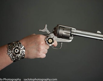 Beth 45 Colt Bullet Jewelry Bullet Rose Ring LillyB Haven Original