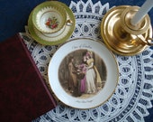 Regency Style Decorative Pictoral Plate...Cries of London Sweet China Oranges....Tuscan Fine English Bone China