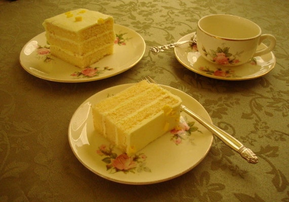 Tea and Cake for One....Lovely Royal Wilton Trio Plus...Eggshell With Pink Roses Green Leaves