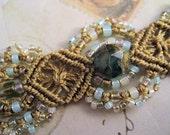 MicroMacrame Bracelet in Margarita Colors