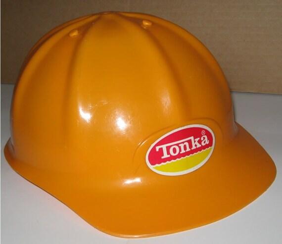 Tonka Hard Hat Adjustable Kids Vintage 1970s