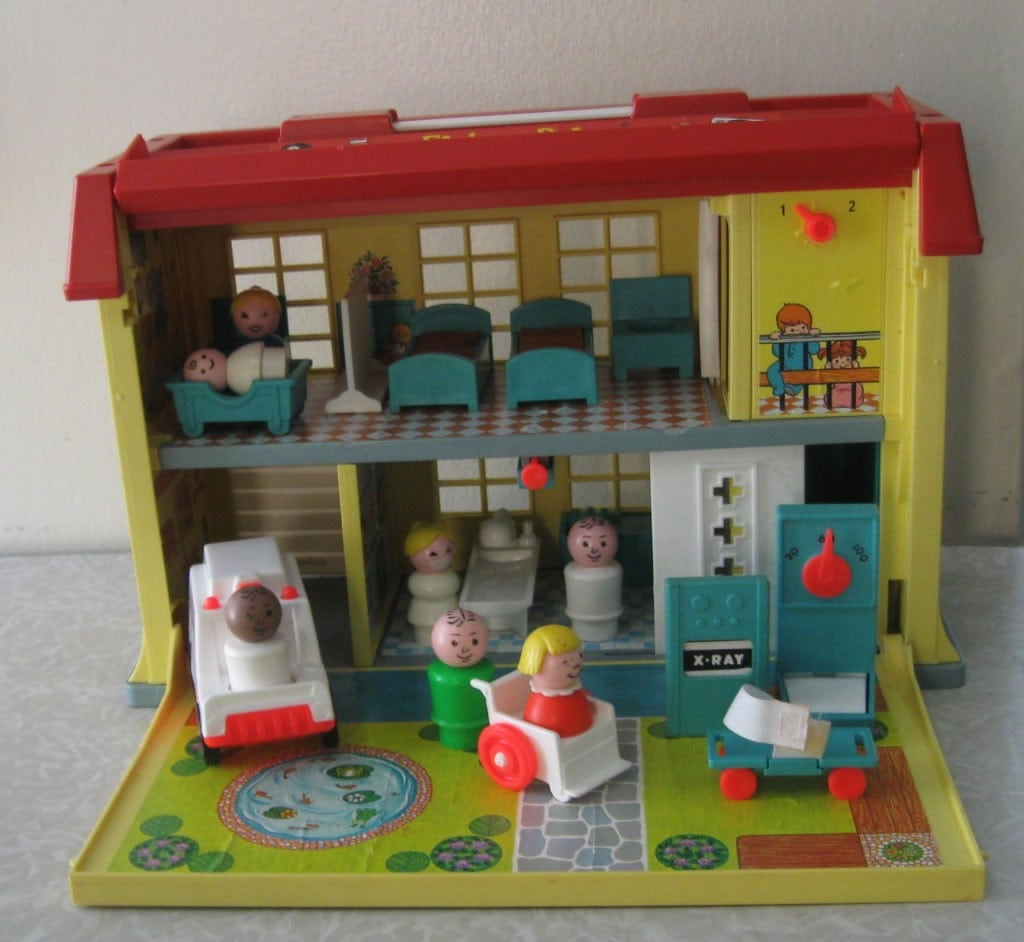 Fisher Price Little People Children S Hospital Palyset 931