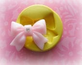 Kawaii Bow Deco Moulds Sweets Kawaii Food Silicone Flexible Clay Resin Mould